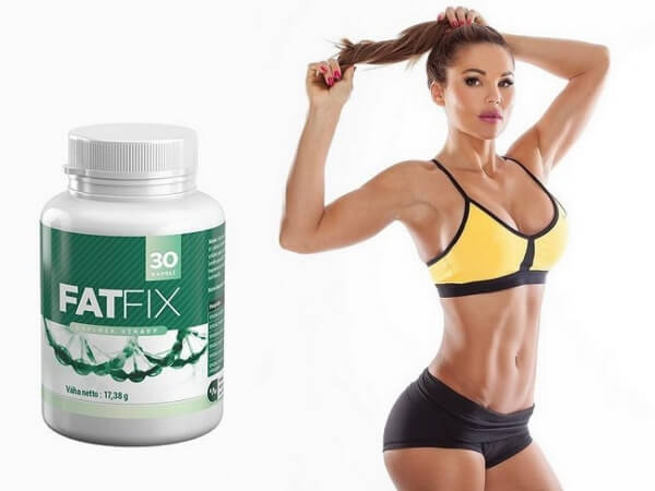 cápsulas para bajar de peso fat fix