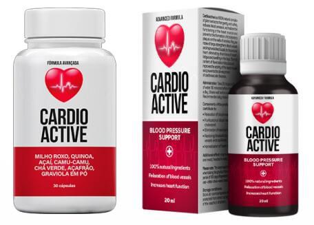 CardioActive Gotas para hipertension Colombia, Peru y Espana