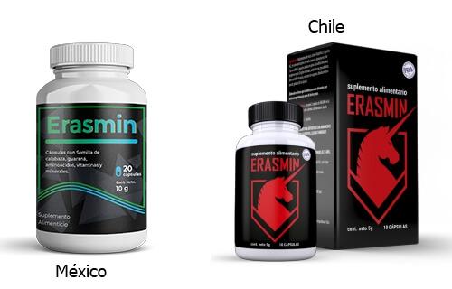 Erasmin México y Chile