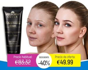 Velform Cover Crema – ¡Cubra las espinillas y las manchas pigmentadas naturalmente en 2021!