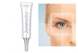 JuveNatur – Crema de ojos antiarrugas rejuvenecedora de doble acción