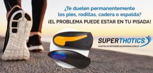 SuperThotics para comodidad ortopédica está disponible a bajo precio en Chile