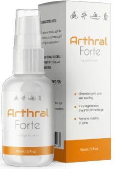 Arthral Forte Gel para articulaciones España