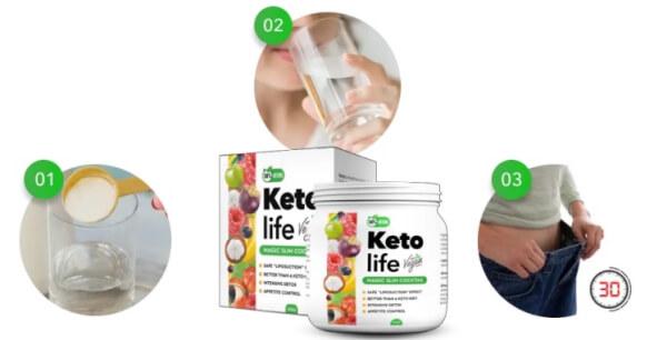 Instrucciones de Keto Life