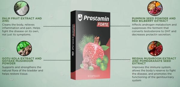 prostaminforte capsulas